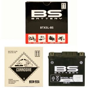 BS BTX5L BS MF Motorcycle Battery