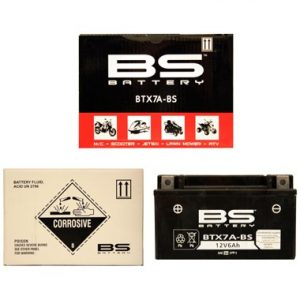 BS BTX7A BS MF Motorcycle Battery