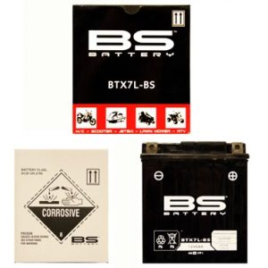 BS BTX7L BS MF Motorcycle Battery