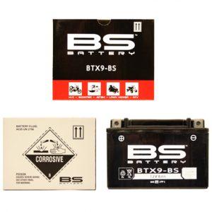 BS BTX9 BS MF Motorcycle Battery