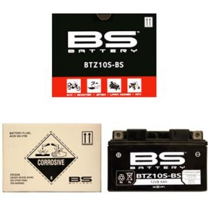 BS BTZ10S BS MF Motorcycle Battery