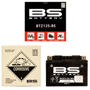 BS BTZ12S BS MF Motorcycle Battery