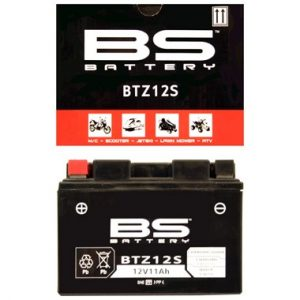 BS BTZ12S Motorcycle Battery