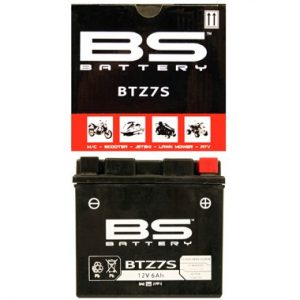 BS BTZ7S Motorcycle Battery