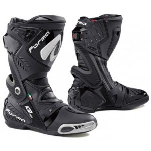 Forma Ice Pro Motorcycle Racing Boots Black