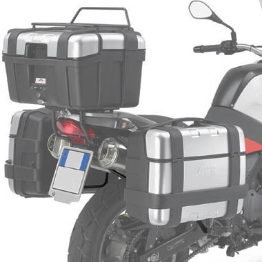 Givi PL188 Monokey Pannier Holders BMW F650GS Dakar 2000 to 2003