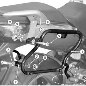 Givi PLX174 V35 V37 Pannier Holders Honda CBF500 2004 on