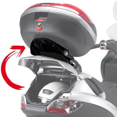 Givi SR134M Special Monolock Rear Carrier Piaggio MP3 2006 on