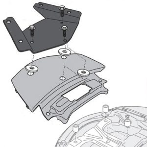 Givi SR3104MM Monolock Rear Carrier Suzuki Burgman 650 2013 on