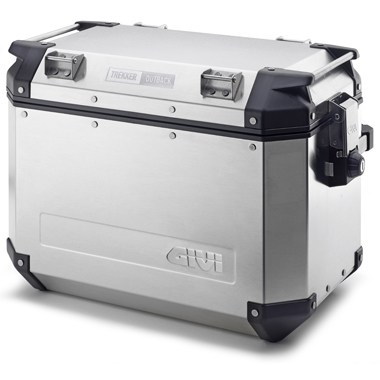 Givi Trekker Outback Side Case Left 48 Litre Silver
