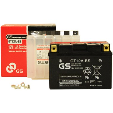 GS GT12A BS MF Motorcycle Battery
