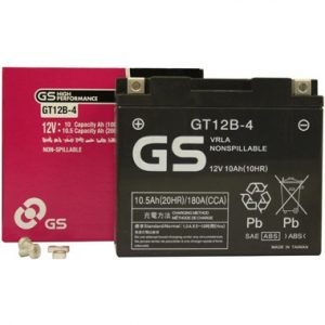 GS GT12B4 Motorcycle Battery