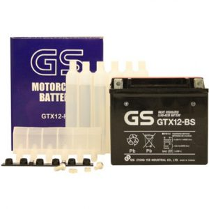 GS GTX12 BS MF Motorcycle Battery