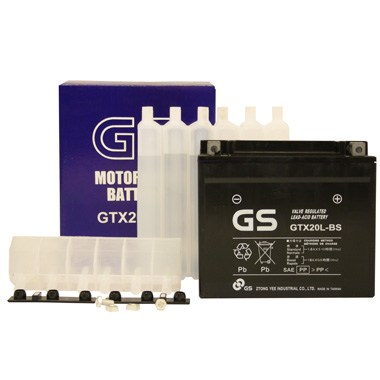 GS GTX20L BS MF Motorcycle Battery
