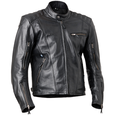 Halvarssons Discovery Waterproof Leather Motorcycle Jacket