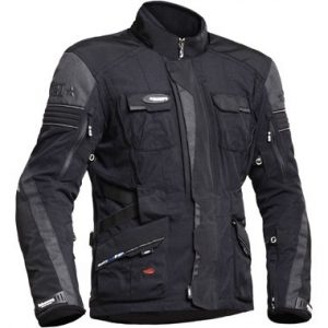Halvarssons Prime Textile Motorcycle Jacket Black