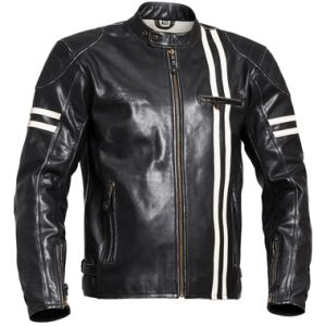 Halvarssons Thunder Classic Leather Motorcycle Jacket
