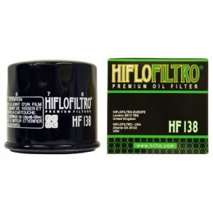 Hi Flo Filtro Motorcycle Oil Filter HF138