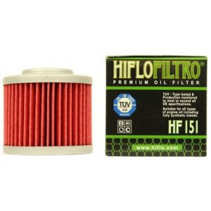 Hi Flo Filtro Motorcycle Oil Filter HF151