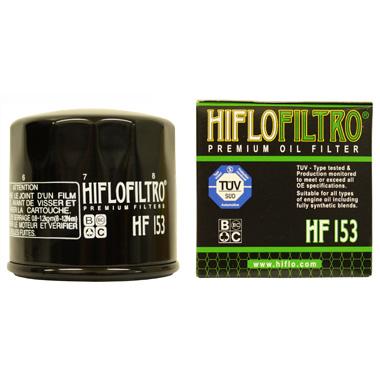 Hi Flo Filtro Motorcycle Oil Filter HF153
