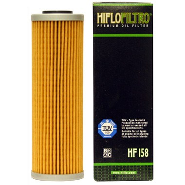 Hi Flo Filtro Motorcycle Oil Filter HF158