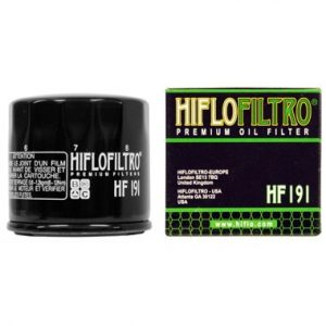 Hi Flo Filtro Motorcycle Oil Filter HF191
