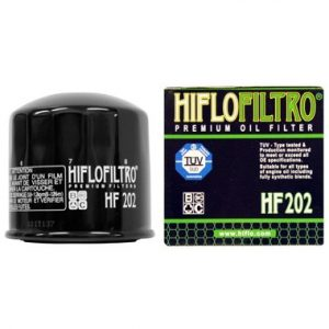 Hi Flo Filtro Motorcycle Oil Filter HF202