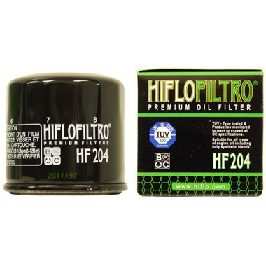 Hi Flo Filtro Motorcycle Oil Filter HF204