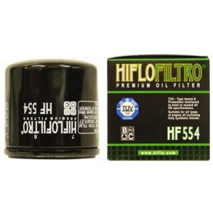 Hi Flo Filtro Motorcycle Oil Filter HF554