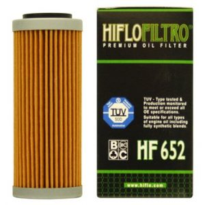 Hi Flo Filtro Motorcycle Oil Filter HF652