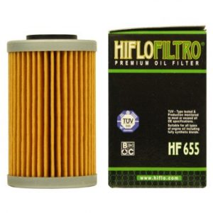 Hi Flo Filtro Motorcycle Oil Filter HF655