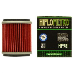 Hi Flo Filtro Motorcycle Oil Filter HF981