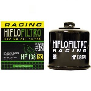 Hi Flo Filtro Motorcycle Racing Oil Filter HF138 RC