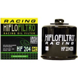 Hi Flo Filtro Motorcycle Racing Oil Filter HF204 RC