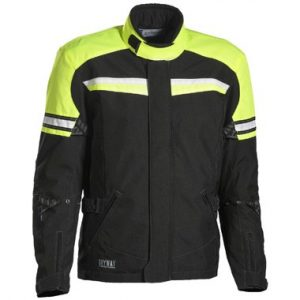 Jofama Journey Textile Motorcycle Jacket Yellow