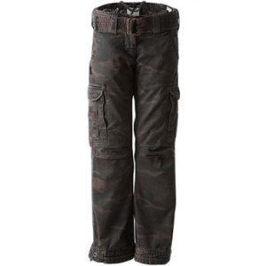 John Doe Cargo Pants Slimcut Camouflage Regular Leg