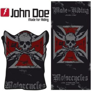 John Doe Motorcycle Neck Tube Cross