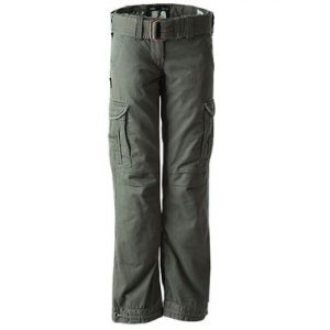 John Doe Kevlar Motorcycle Cargo Pants Slimcut Olive Regular Leg