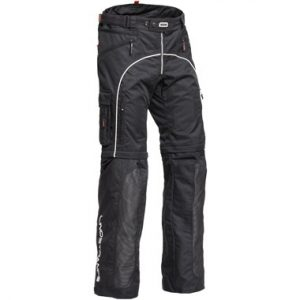 Lindstrands Lizard Textile Motorcycle Trousers Black