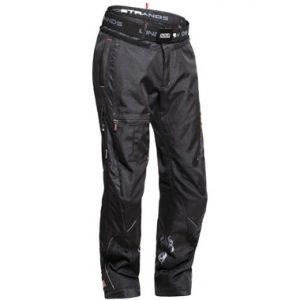 Lindstrands Taal Textile Motorcycle Pants Black Short Leg