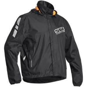 Lindstrands WP Jacket Waterproof Motorcycle Over Jacket Black
