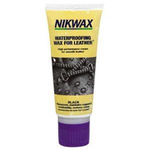 Nikwax Waterproofing Wax Leather Footwear Black 60ml