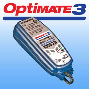 Optimate 3 Motorcycle Battery Charger