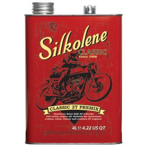 Silkolene Classic 2T Pre Mix 2 Stroke Motorcycle Oil 4 Litres