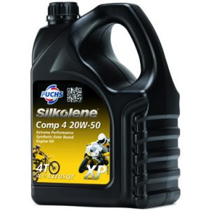 Silkolene Comp 4 20W 50 XP Motorcycle Engine Oil 4L