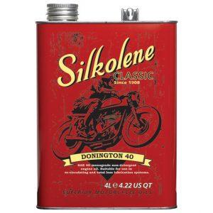 Silkolene Donington 40 Motorcycle Oil 4 Litres