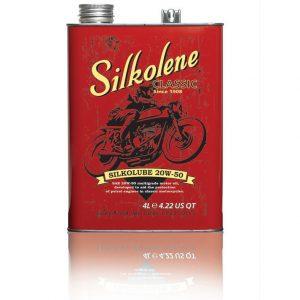 Silkolene Silkolube 20W 50 Motorcycle Oil 4 Litres