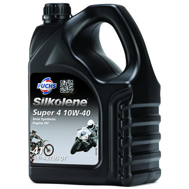Silkolene Super 4 10W 40 Motorcycle Engine Oil 4L