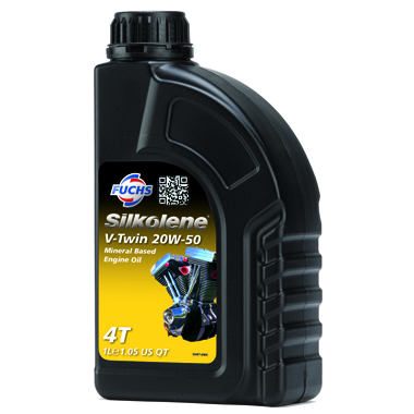 Silkolene V Twin 20W 50 Motorcycle Engine Oil 1L