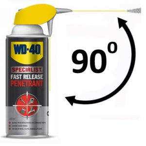 WD40 Fast Release Penetrant Smart Straw 400 ml